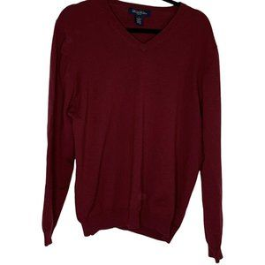 Brooks Brothers Sweater V-Neck Stretch L/S Wool